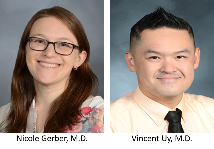 Newly appointed PEM Assistant Directors of Clinical Services